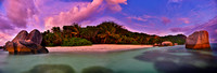 Rated number one beach in the world.  Seychelles